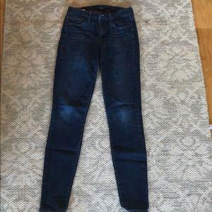 Sam Edelman dark wash mid rise jeans size 25